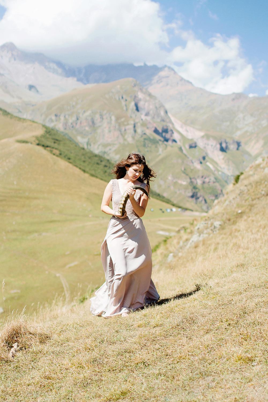 Юлия. Казбеги. Грузия