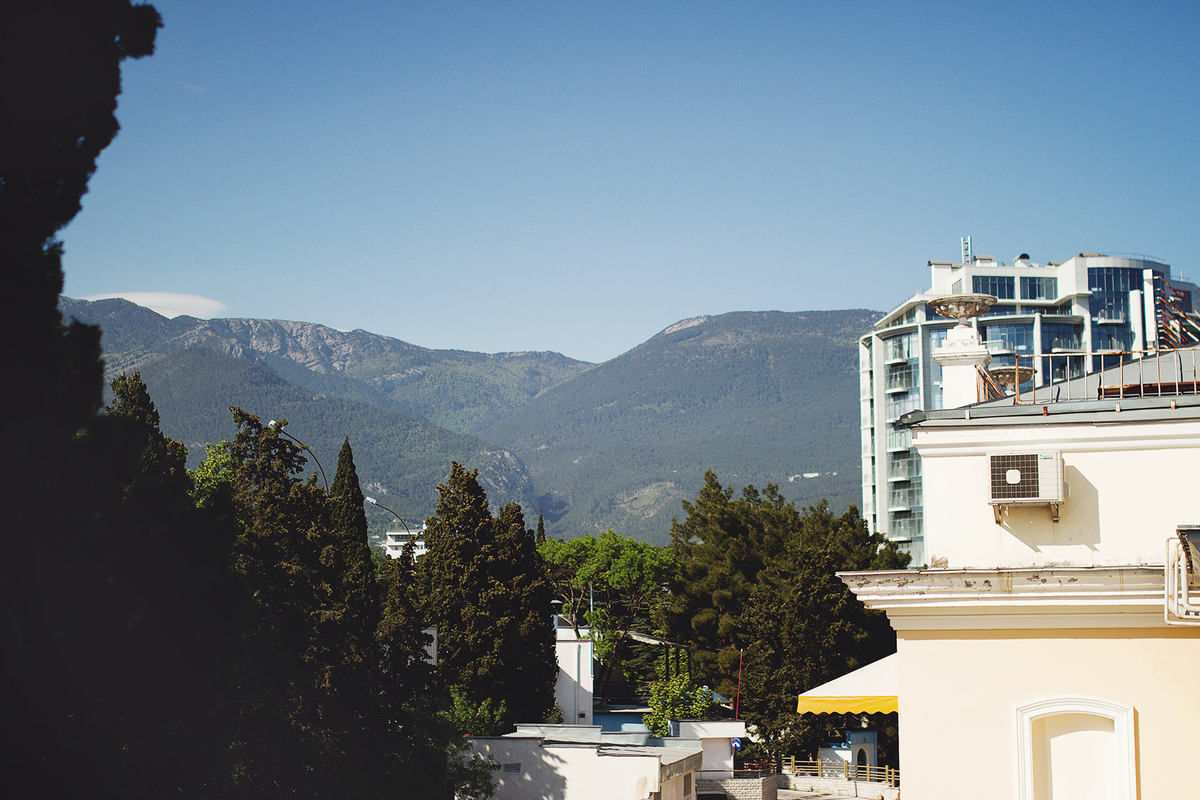 Путешествия. Крым. Алушта, 2014г.