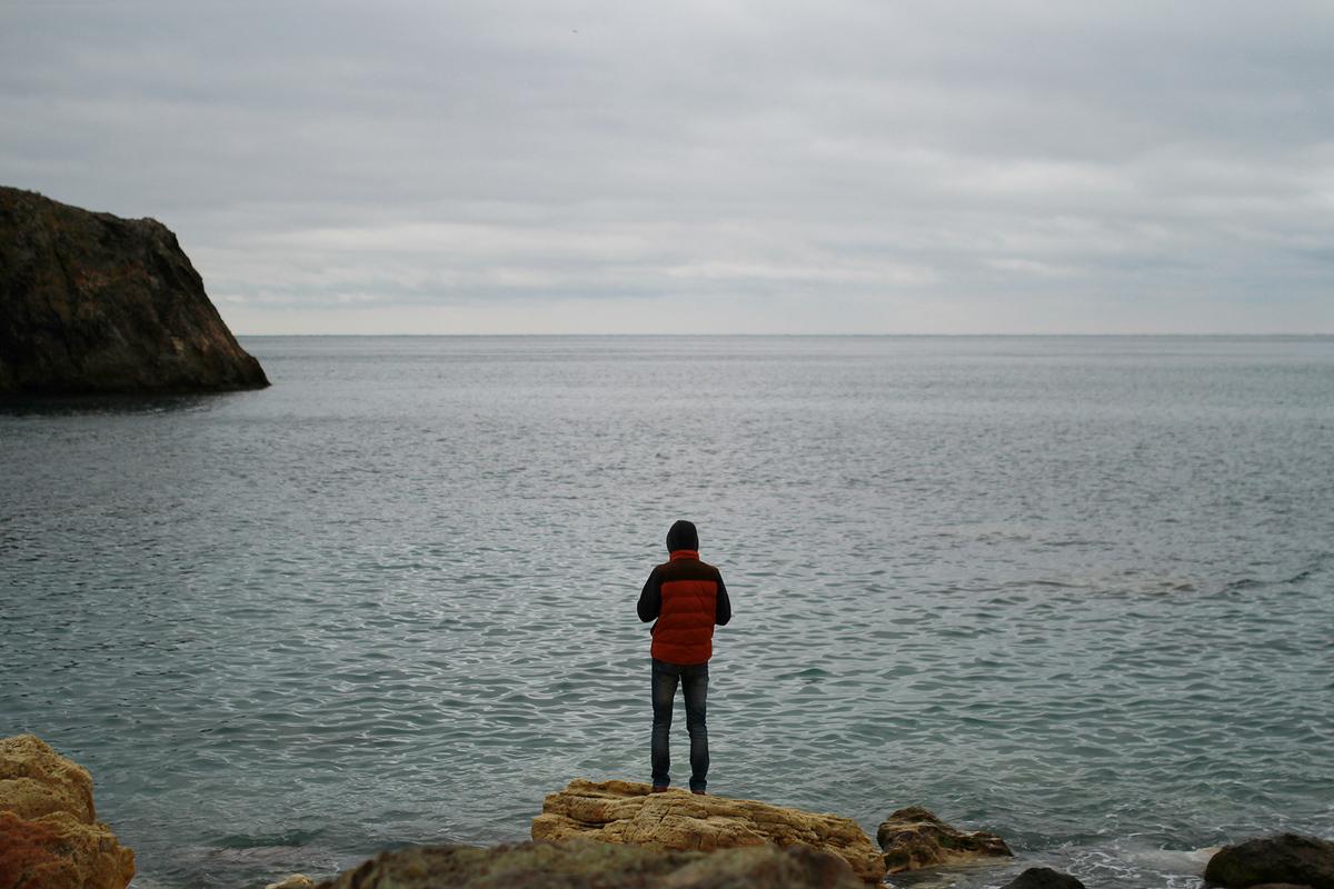 Путешествия. Крым. Мыс Фиолент.