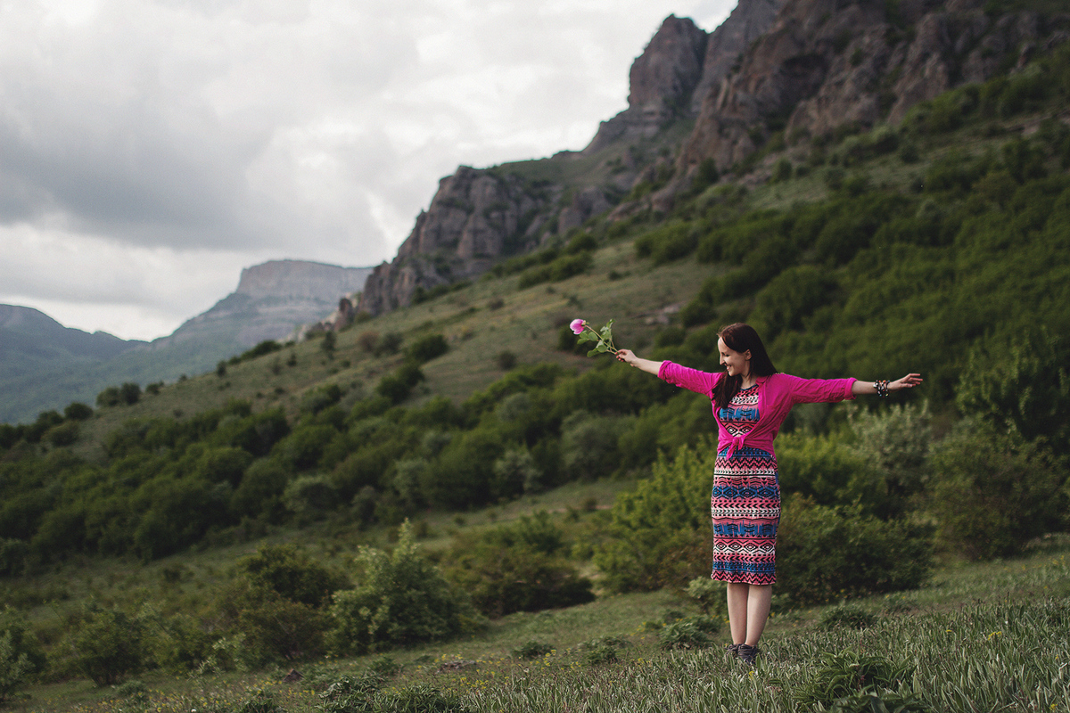 Путешествия. Крым. Демерджи, 2014г.