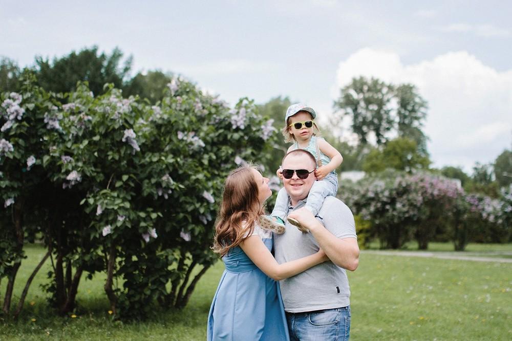 Лена и ее большая семья