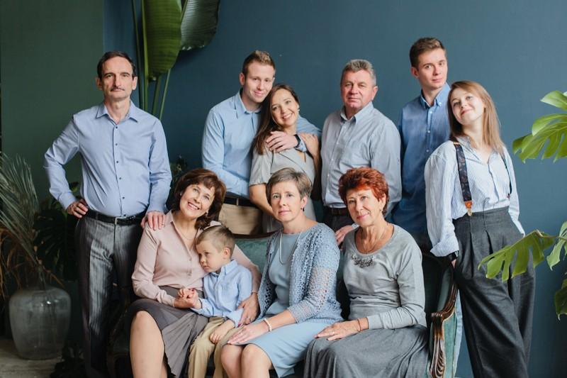 Большая семья ♥