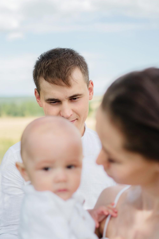 Лена, Саша и Матвей