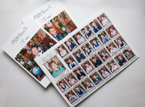 Выпускные фотоальбомы, планшеты, виньетки