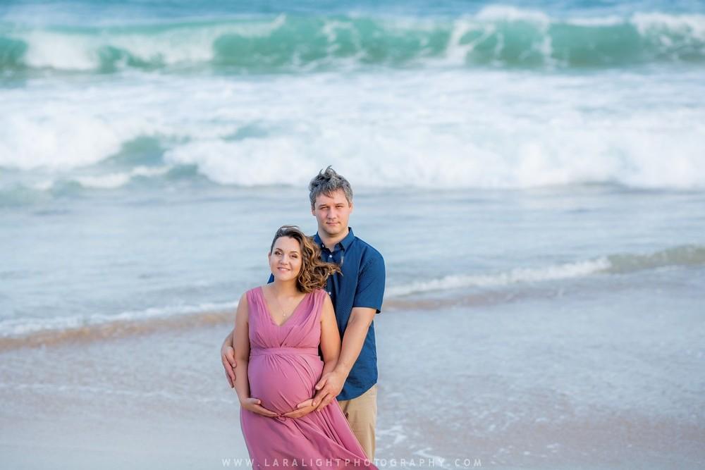Maternity   Katerina and Arthur   Camellia Gardens and Cronulla Beach Photography