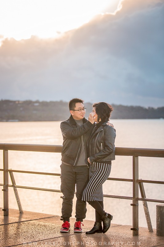 Couples | Rudy and Yuliana | Opera House, Harbour Bridge and The Rocks Photo Session