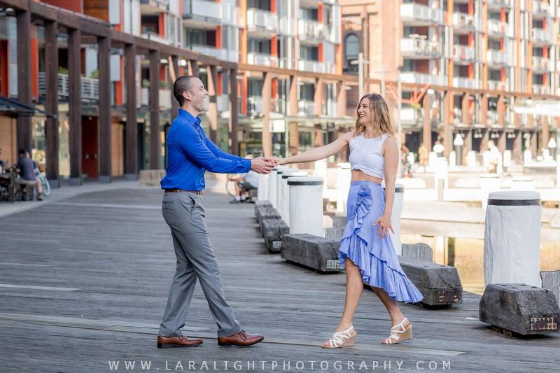 Vacations | Jennifer and Josh | Sydney Opera House Vacation Photo Shoot