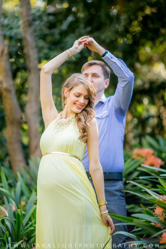 Maternity | Daria and Alex | Caringbah Camellia Gardens Maternity Session