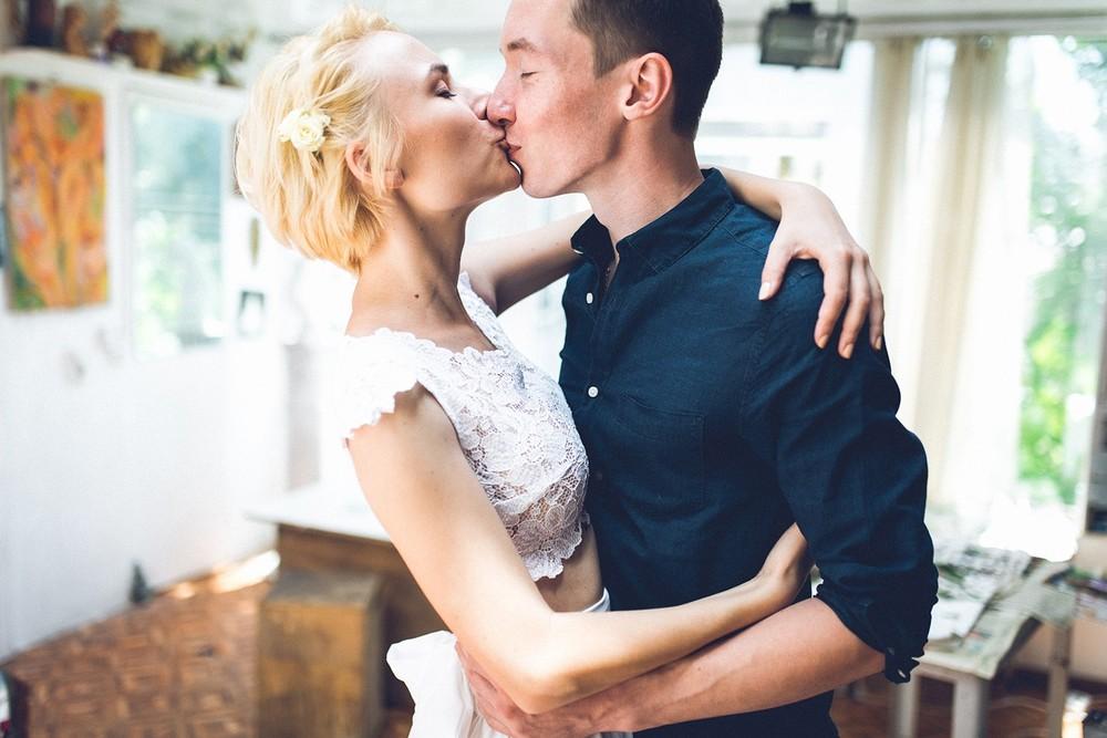 Something in her eyes... (wedding)