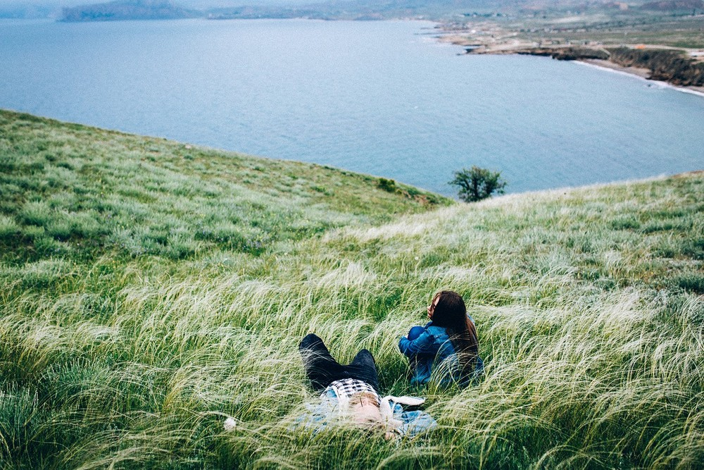 На странных берегах (Lovestory)
