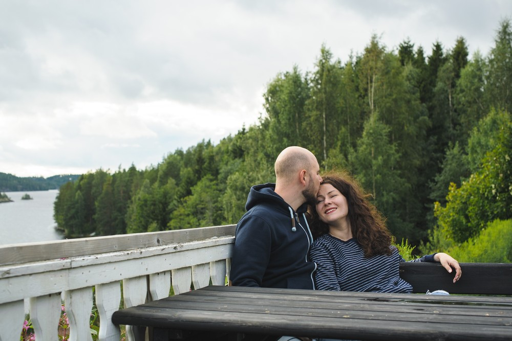 КАТЯ И САША В ФИНЛЯНДИИ