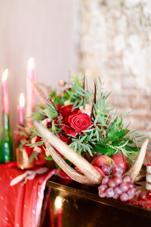 Свадебный лукбук - марсала