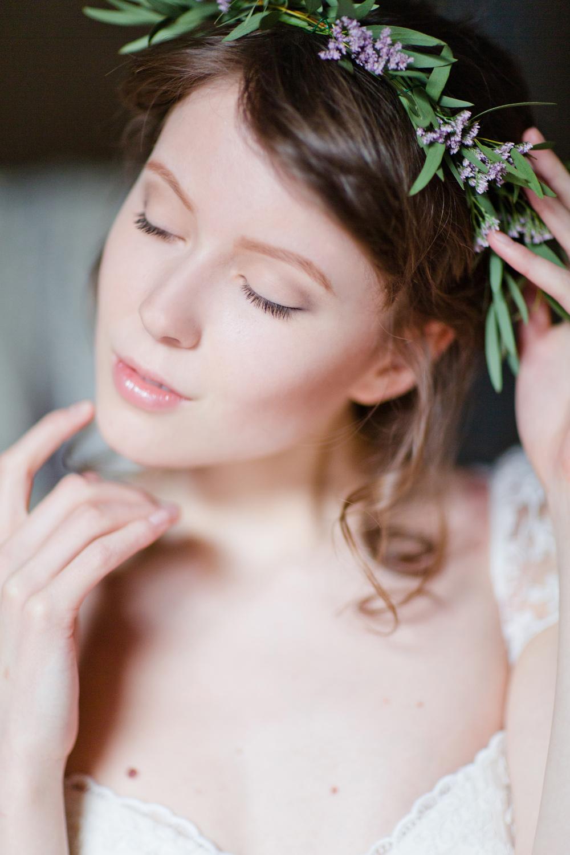 Свадебный лукбук - лаванда