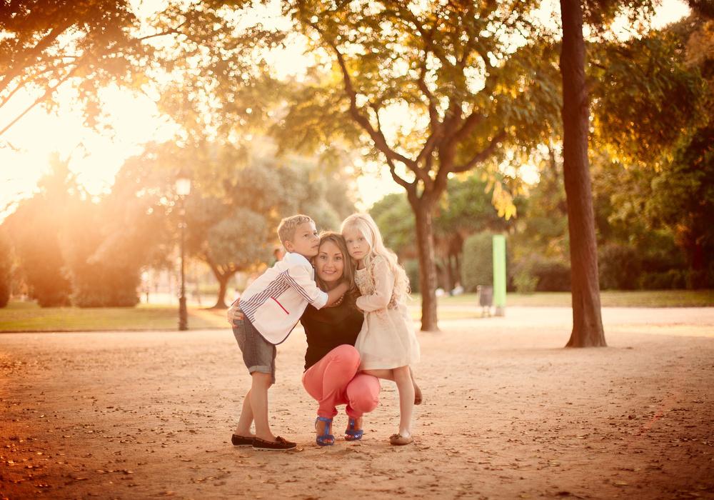 Irina+kids