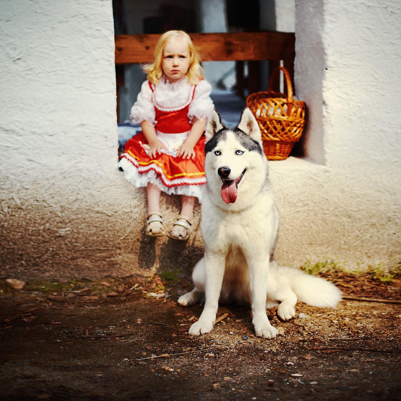 Красная шапочка и серый волк