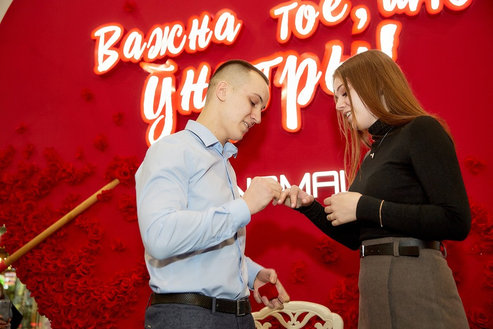 Самый массовый флешмоб Беларуси к Дню Святого Валентина 2020