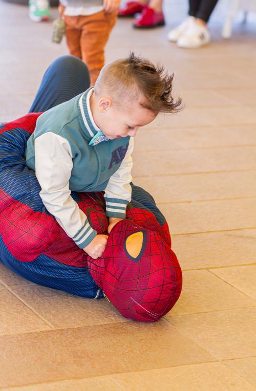 День Рождения Вадюши В Гостях у Супергероев