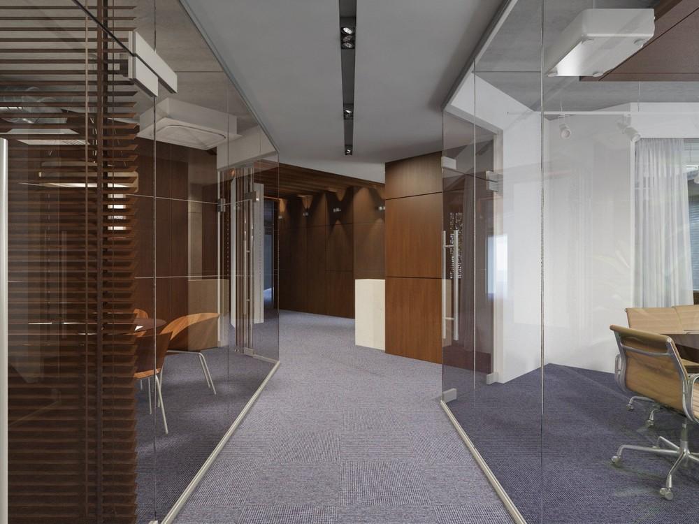 Коммерческие интерьеры - Офис строительной компании | 450м2