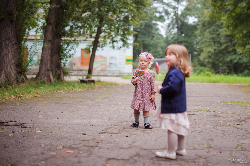 VAIKAI. Atenė ir Dorotėja