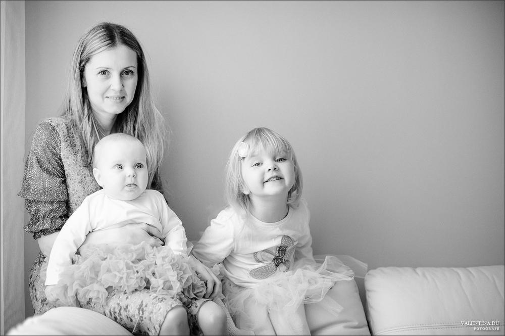 ŠEIMA.  Irena ir jos mergaitės