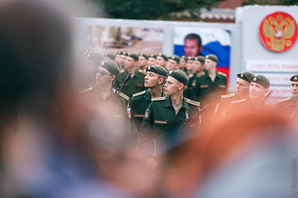 Церемония принятия присяги курсантами ПАИИ (Пенза, сентябрь '15)