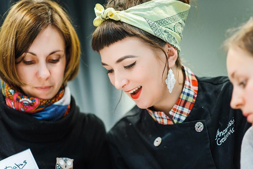 Мастер-класс в Кулинарной школе