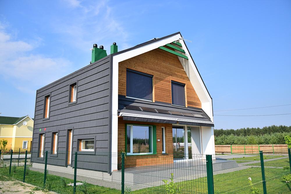 OptimaHouse - 1-й активный дом в Украине