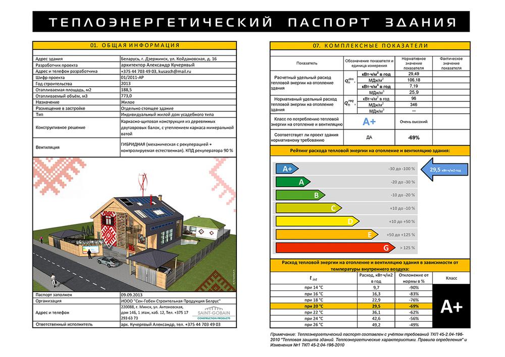 1-й Мультикомфортный дом в Беларуси