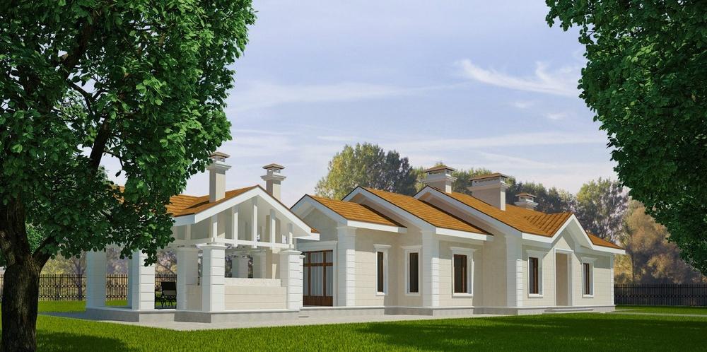 Загородный дом в п.Глинки