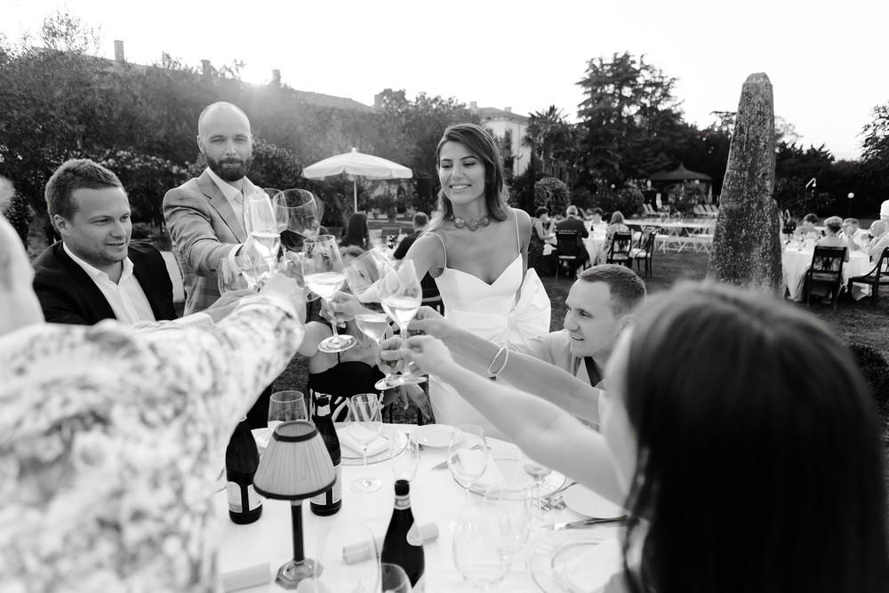 Pre-Wedding dinner, Verona
