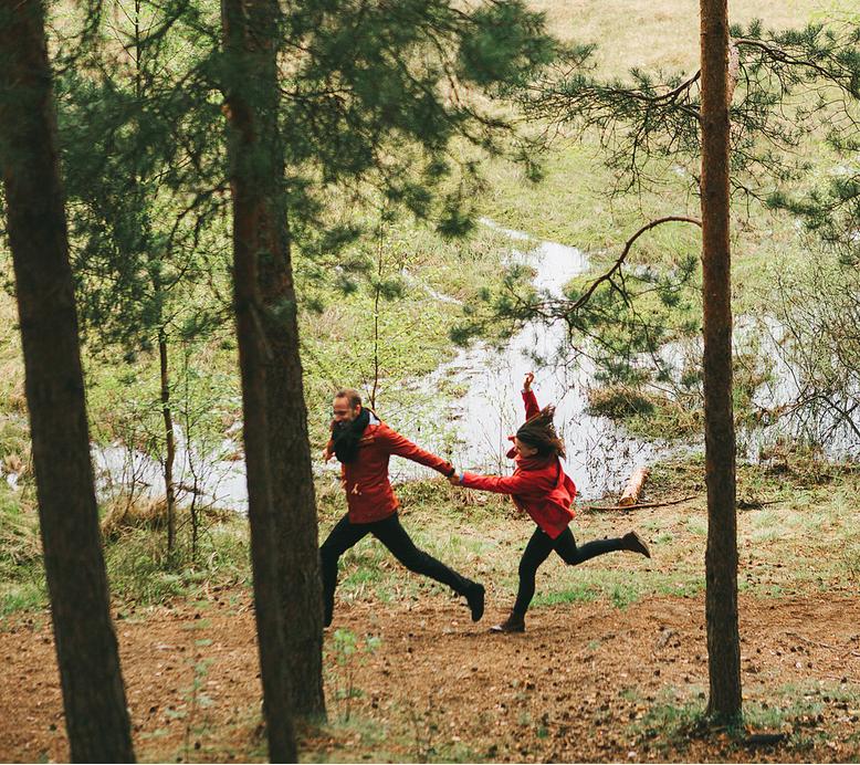 Сосновый бор (Леша и Аня)