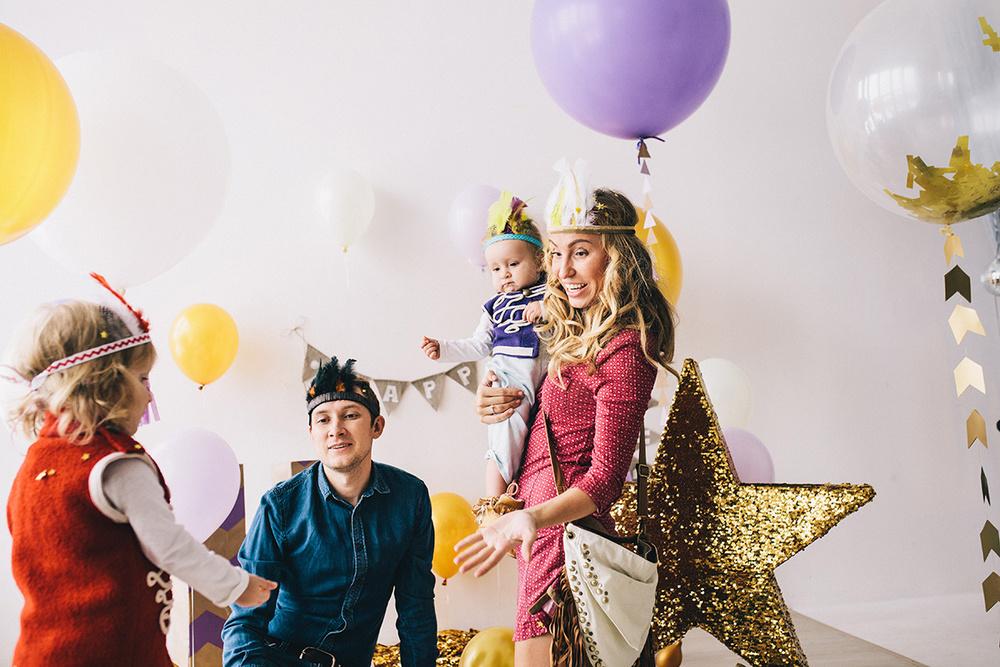Таня, Антон, Нонна и Николь