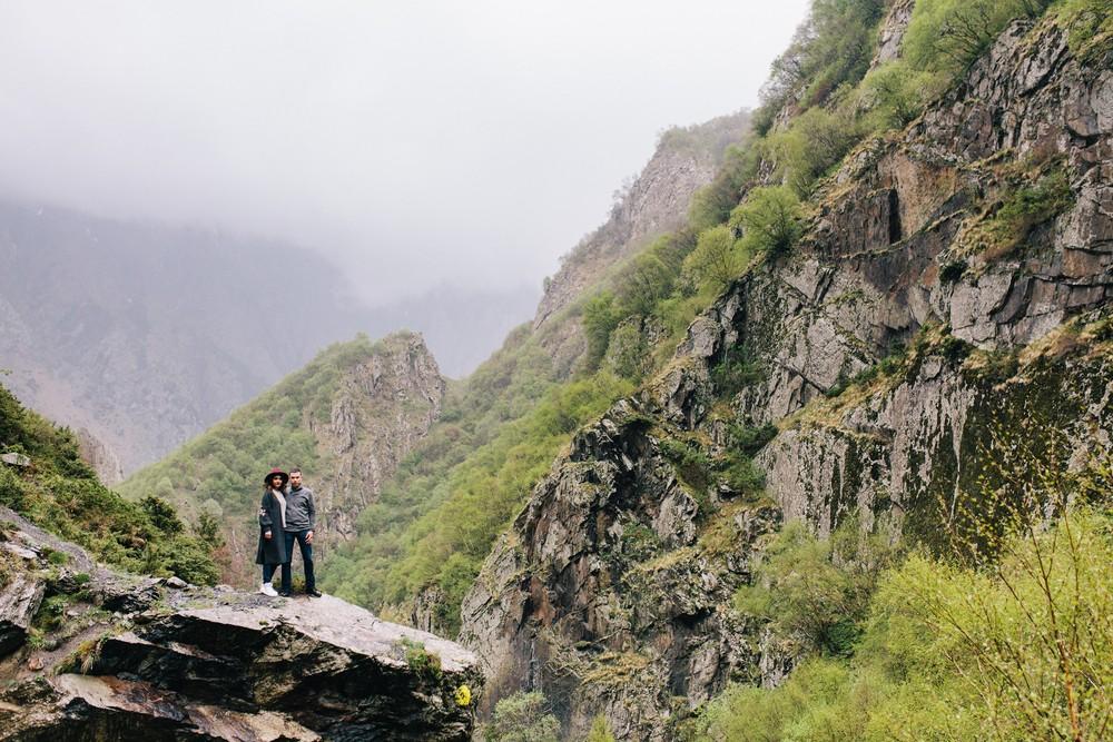 Женя и Маша в Грузии