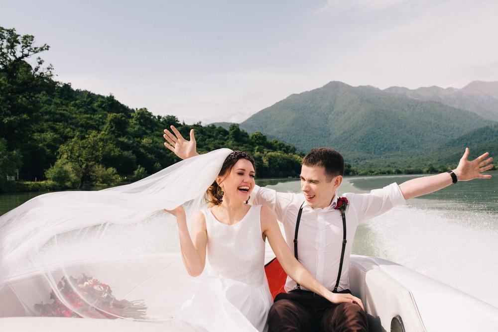 Женя и Маша. Свадьба в Грузии