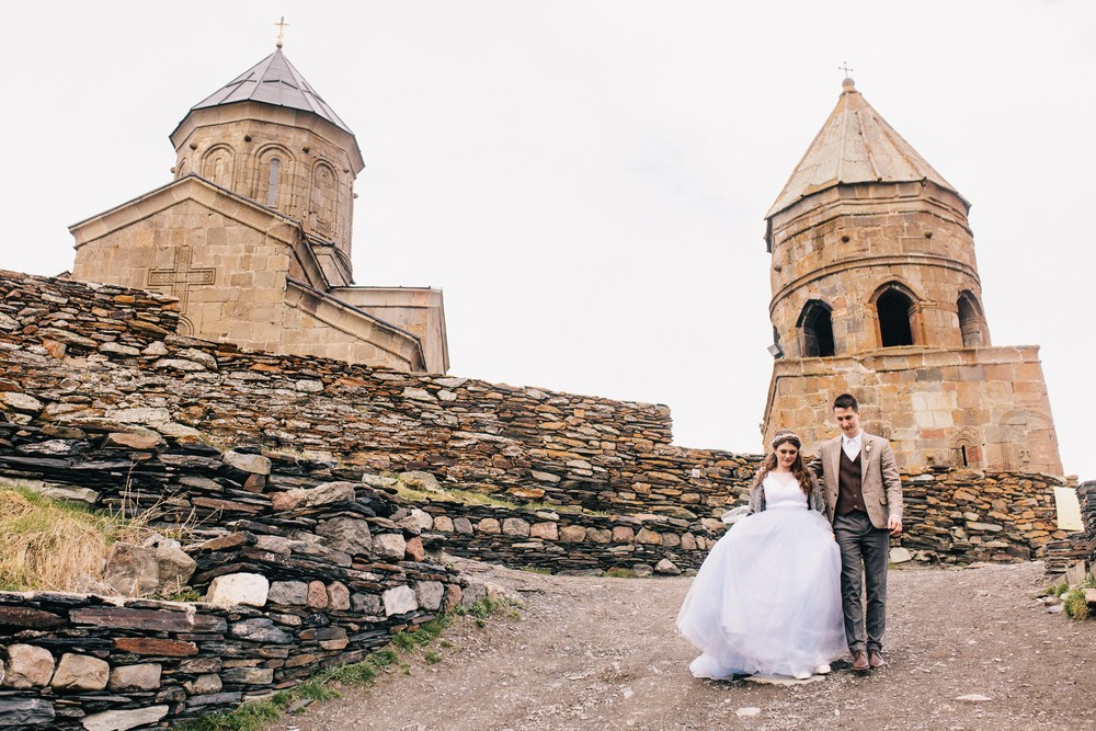 Рома и Даша. Свадьба в Грузии