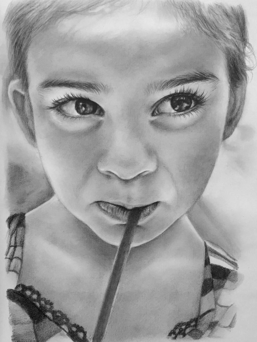 Работы карандашом