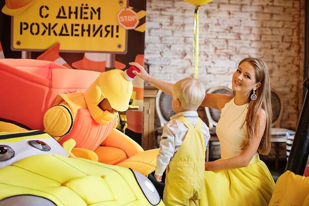 День рождения Мироши, сыночка Анны Михайловской