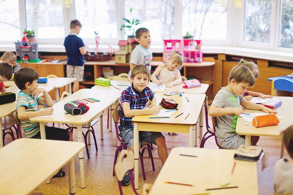 Один день в детском саду