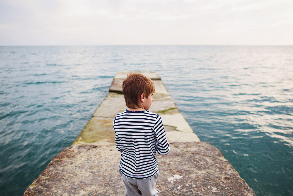 Один день на море