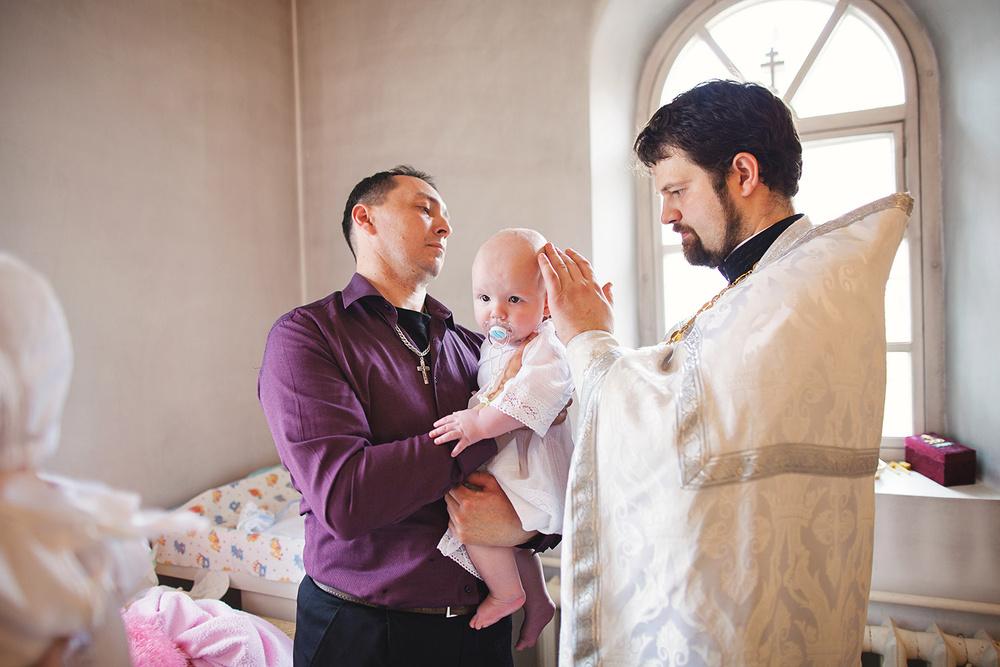 Крещение Степана и Полины
