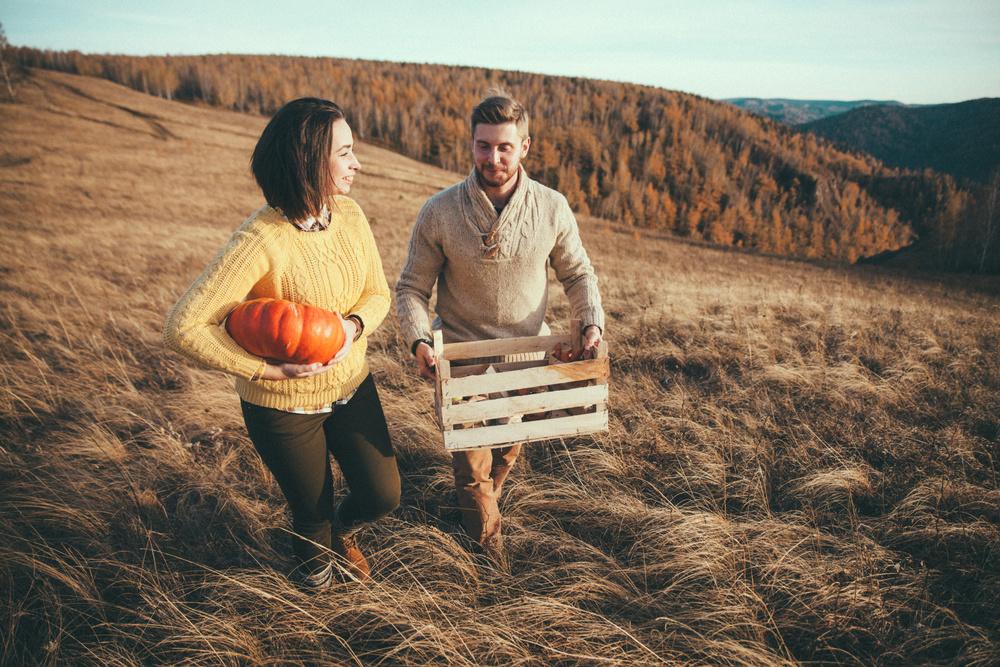 Love Story // Fall harvest