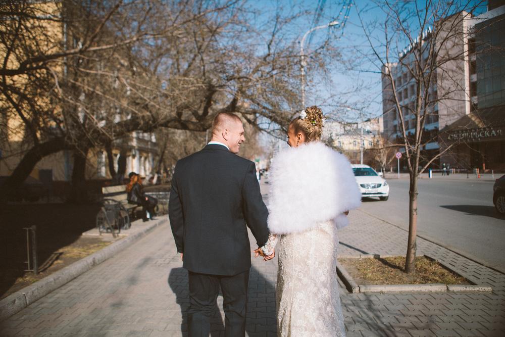 Spring wedding. L & S