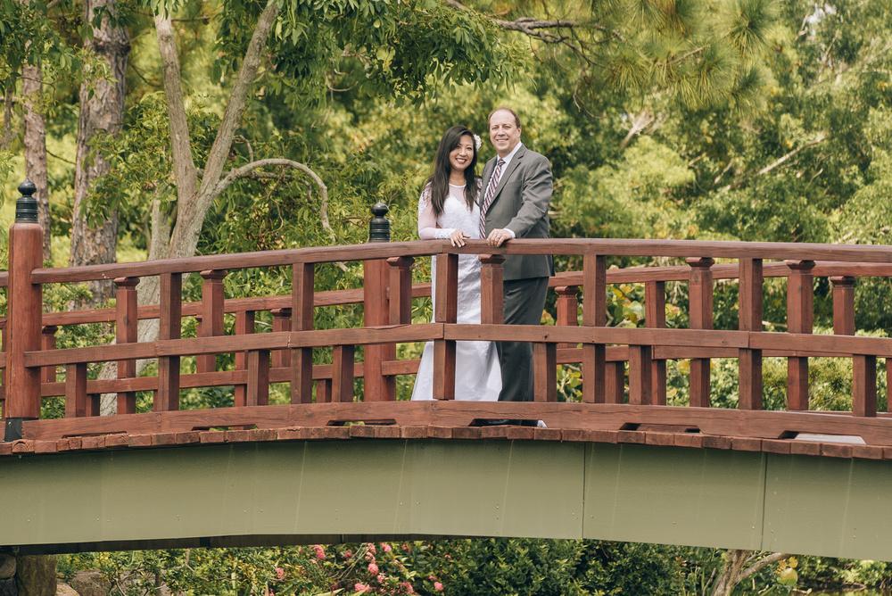 George & Kawai Wedding Day