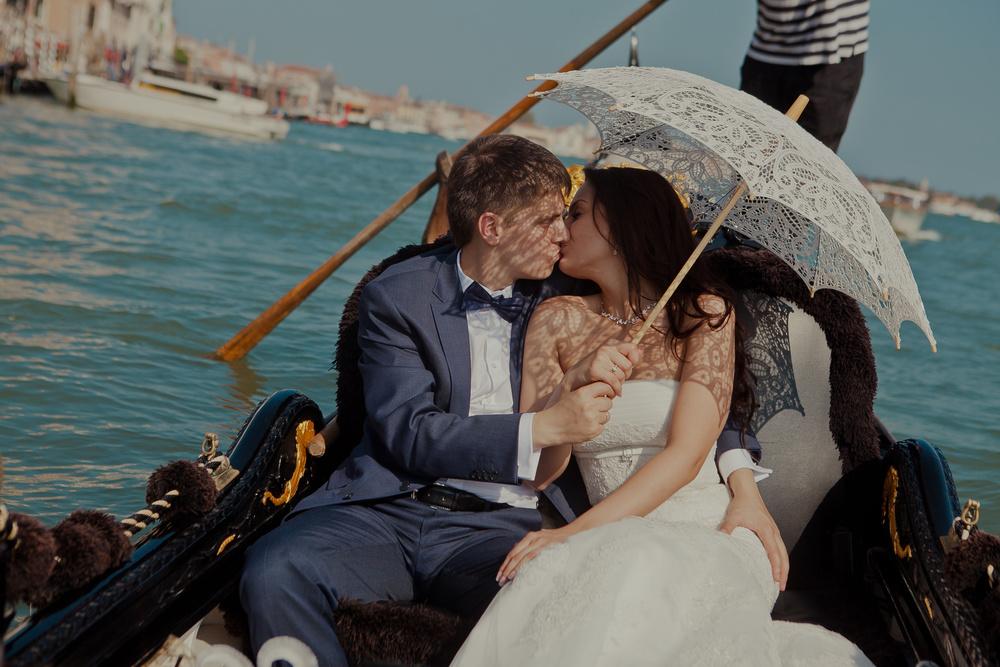 Venice wedding. Mary Alexander
