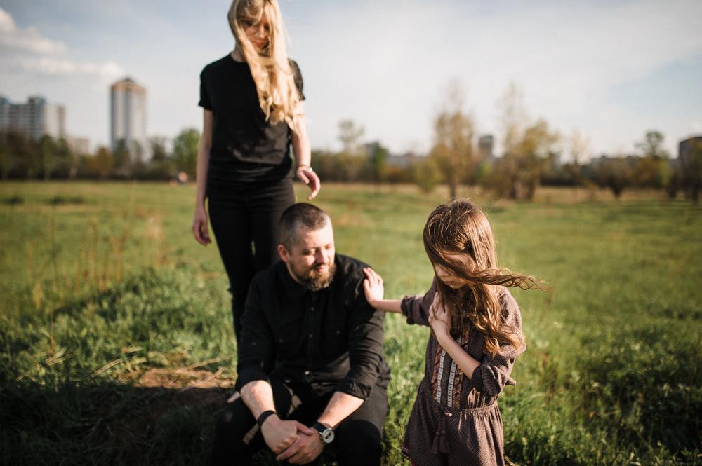 Sun. Wind. Family
