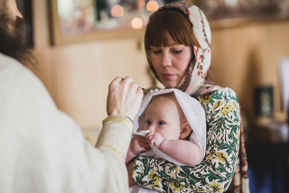 Крещение Ильи
