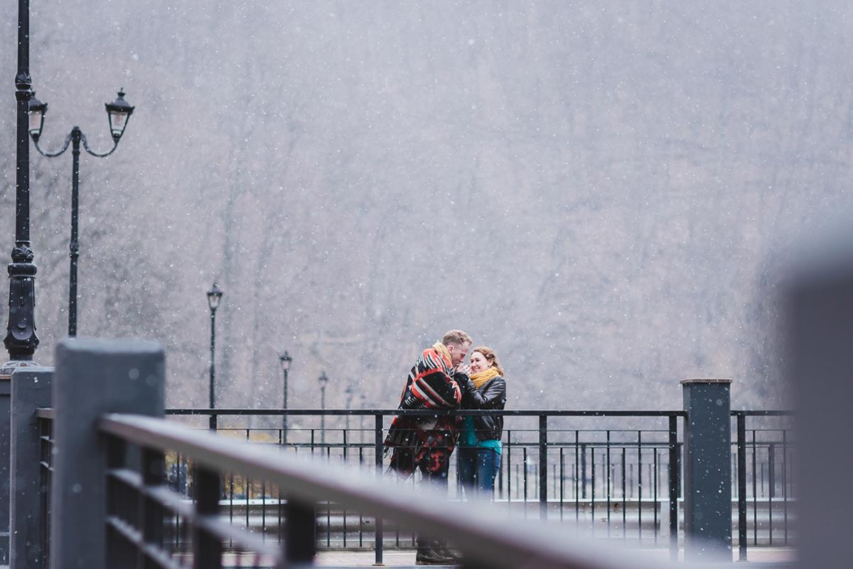 Олег и Таня...Сюрпризы весны...