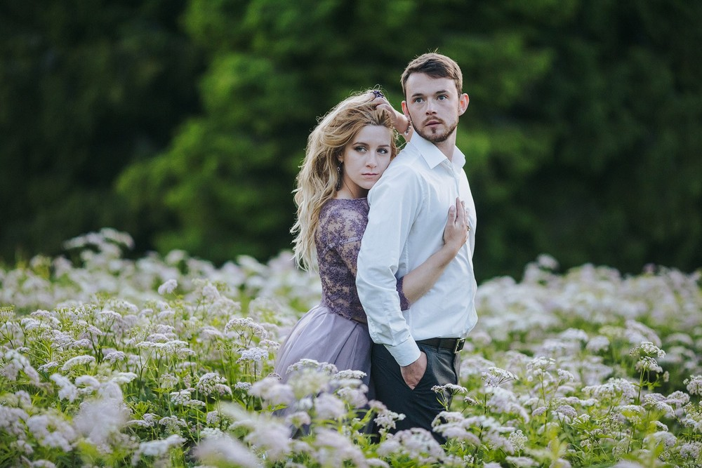 Алена и Дима в Карпатах 2