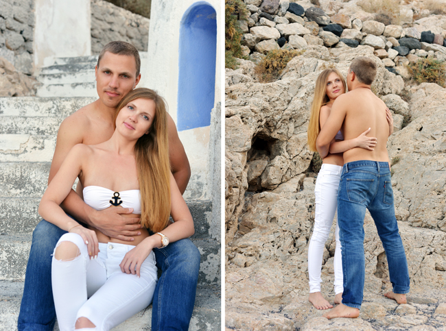 Sasha & Dima 2014 / LOVE STORY / SANTORINI