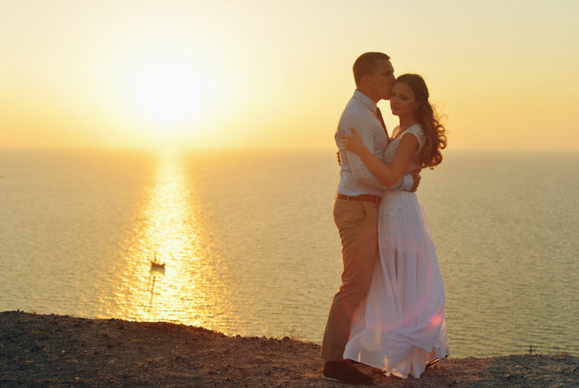 Sasha & Dima 2014 / WEDDING / SANTORINI